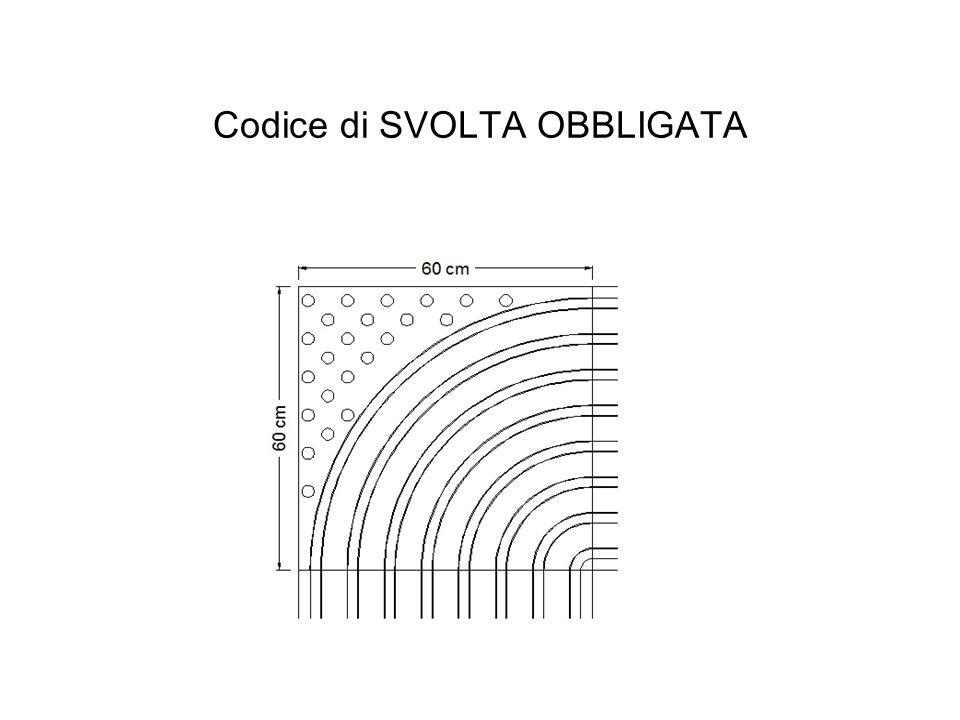 Codice di SVOLTA OBBLIGATA