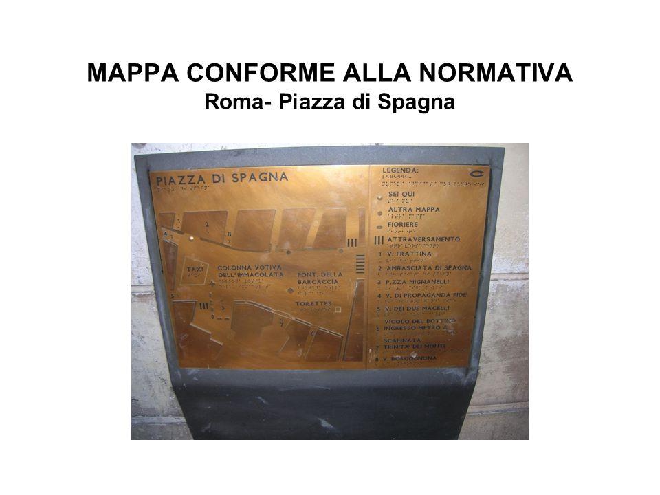 MAPPA CONFORME ALLA NORMATIVA Roma- Piazza di Spagna