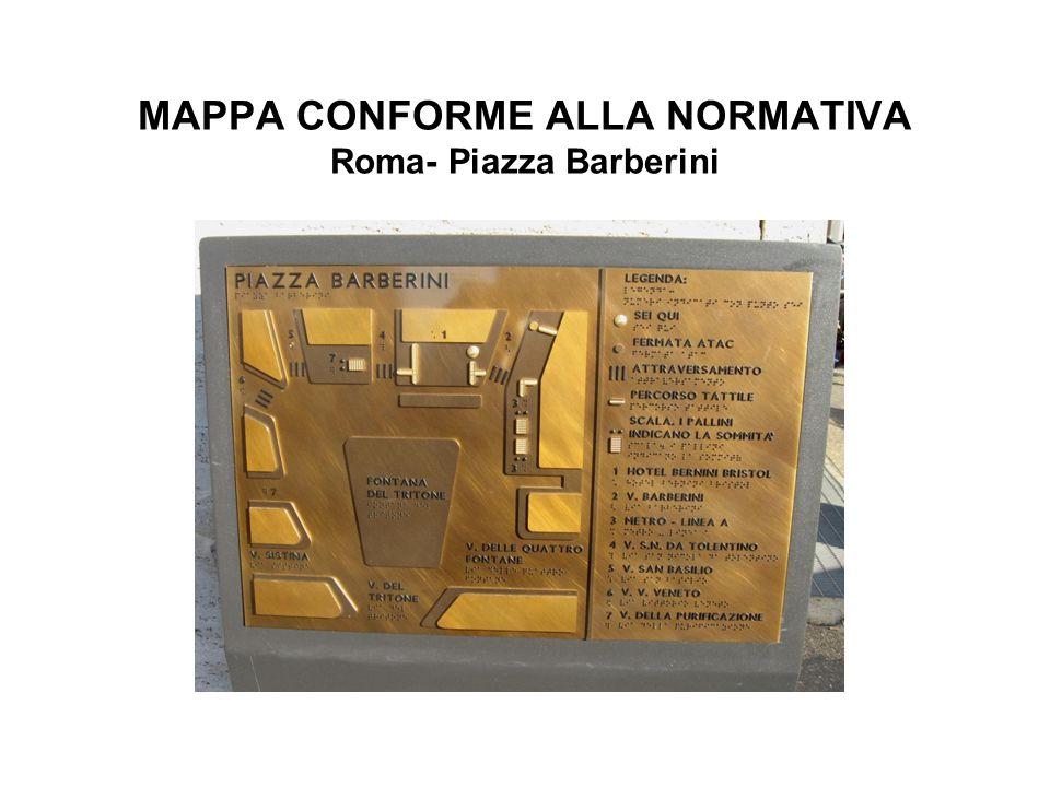 MAPPA CONFORME ALLA NORMATIVA Roma- Piazza Barberini