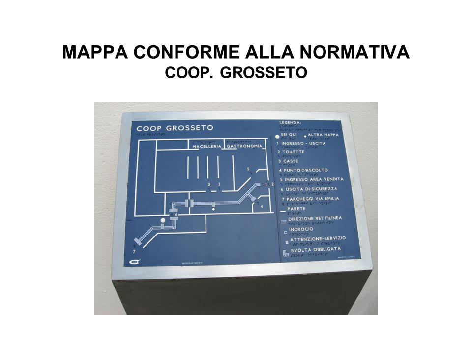 MAPPA CONFORME ALLA NORMATIVA COOP. GROSSETO