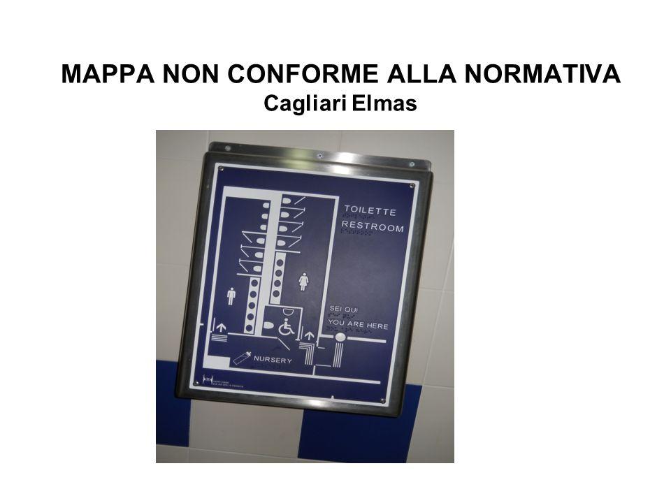 MAPPA NON CONFORME ALLA NORMATIVA Cagliari Elmas