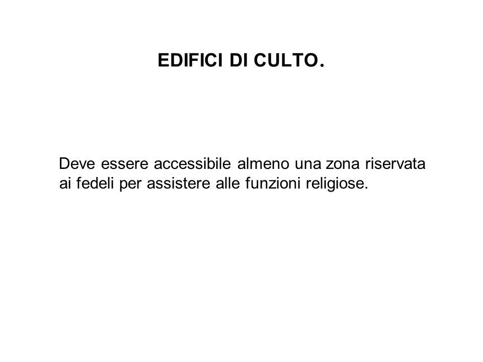 EDIFICI DI CULTO.