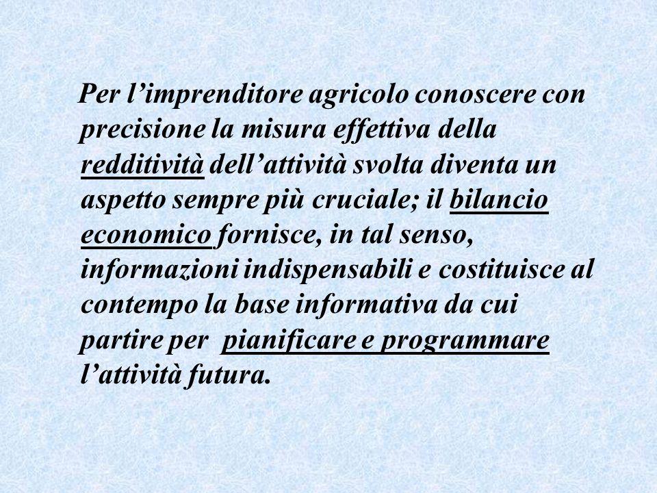Per l'imprenditore agricolo conoscere con precisione la misura effettiva della redditività dell'attività svolta diventa un aspetto sempre più cruciale