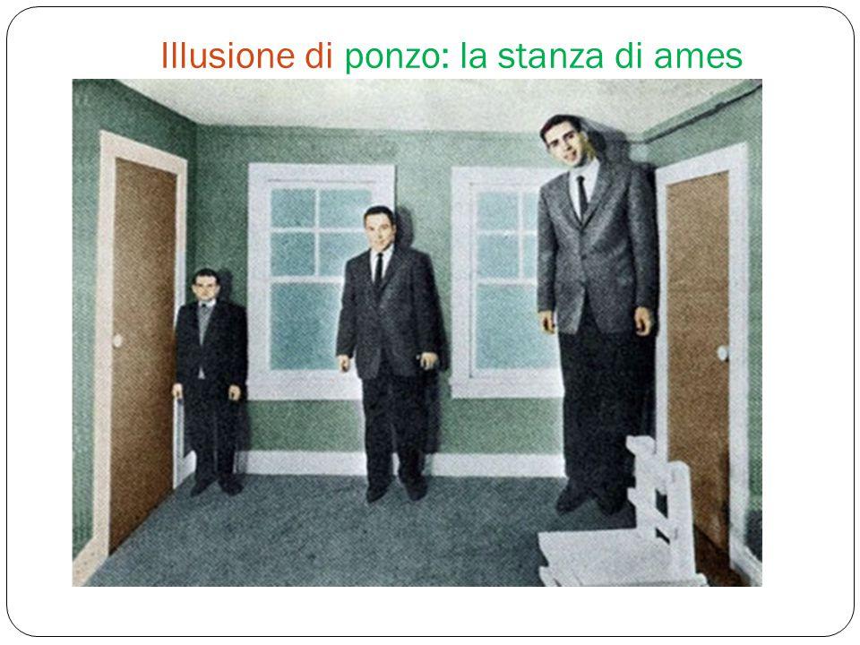 Illusione di ponzo: la stanza di ames