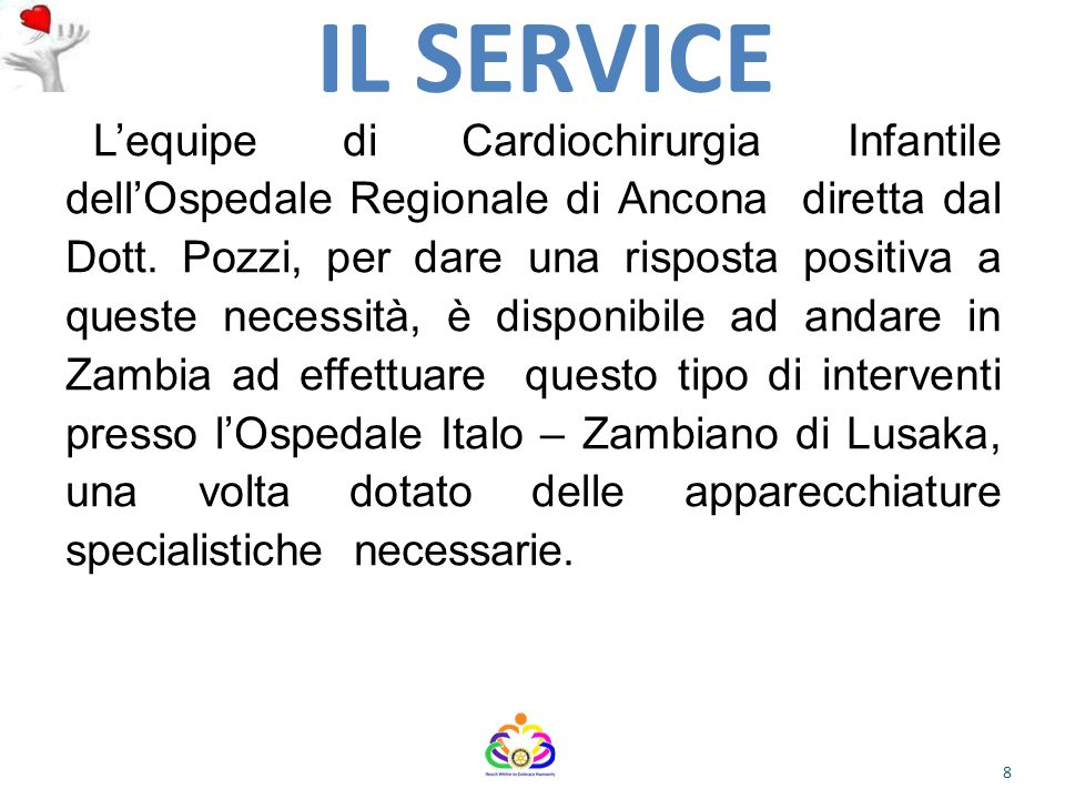 L'OSPEDALE ITALO-ZAMBIANO DI LUSAKA OGGI L'Alleanza degli Ospedali Italiani nel Mondo – Annuario Ospedali 2009- così recita: L'ospedale Italo- Zambiano di Lusaka è stato fondato nel 1999.