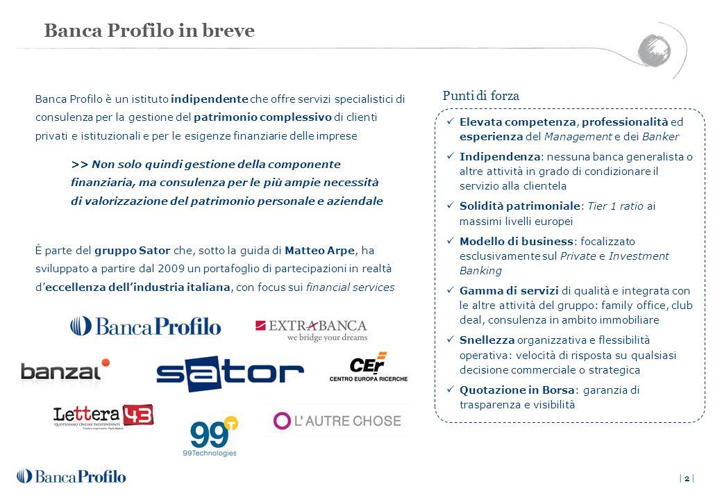 * Inclusa raccolta fiduciaria netta ** Società controllata al 100% da Sator Private Equity Fund A , L.P.