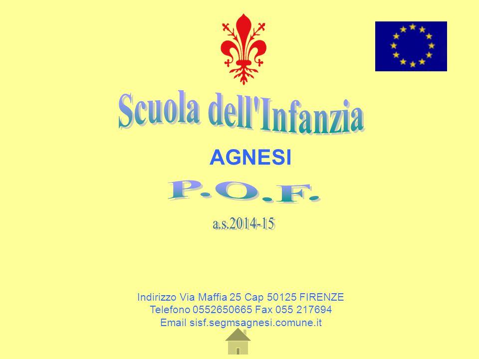 Indirizzo Via Maffia 25 Cap 50125 FIRENZE Telefono 0552650665 Fax 055 217694 Email sisf.segmsagnesi.comune.it AGNESI