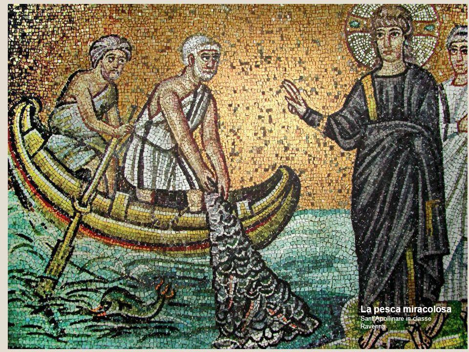 La pesca miracolosa Sant'Apollinare in classe Ravenna