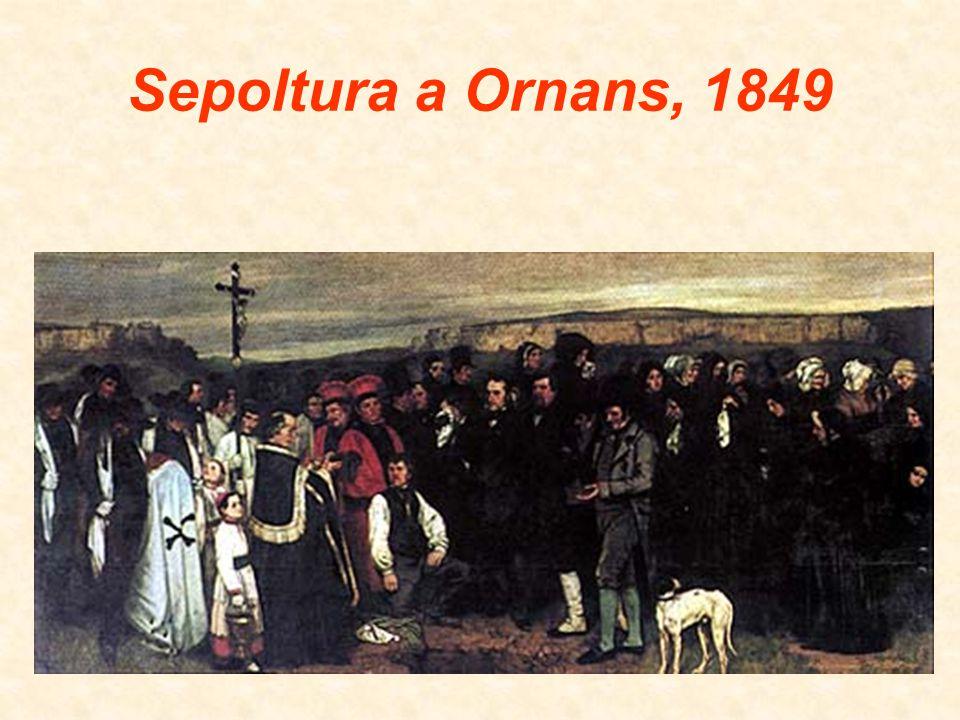 Sepoltura a Ornans, 1849