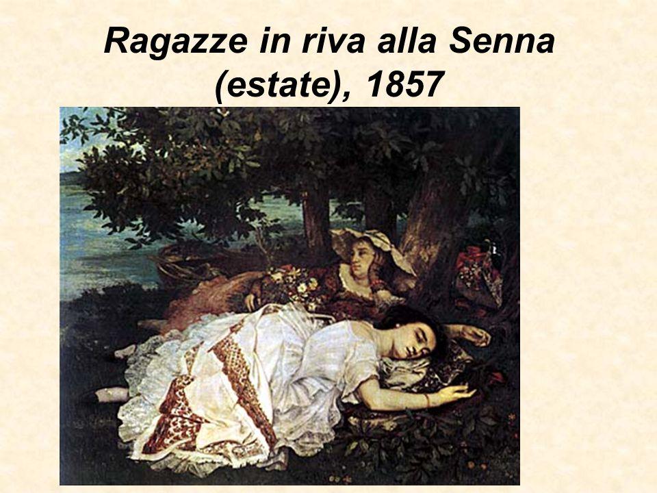 Ragazze in riva alla Senna (estate), 1857