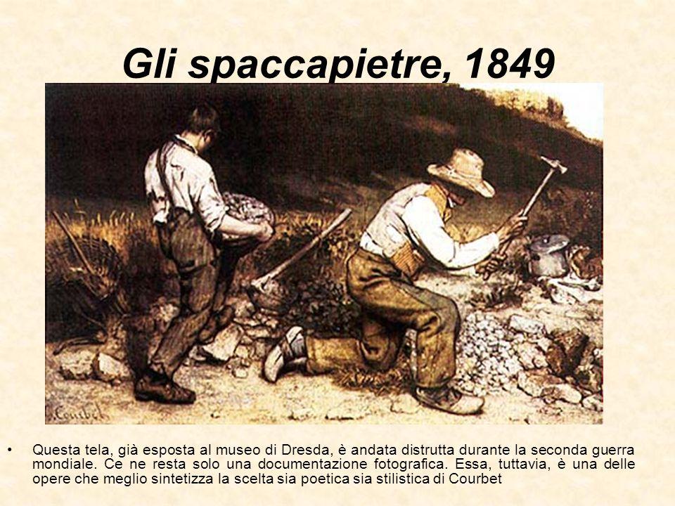 Le spigolatrici, 1857