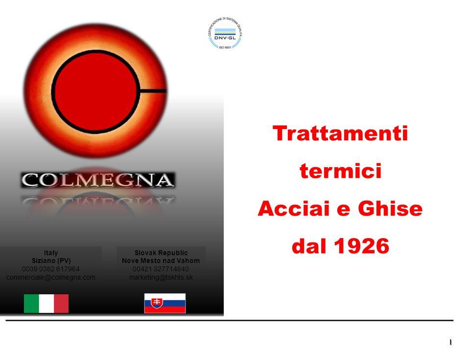 Colmegna – Piano di Rilancio Industriale e Finanziario Strictly Confidential La Società Colmegna, fondata a Milano in Corso di Porta Romana nel 1926, ha sede a Siziano (PV) dal 1970.