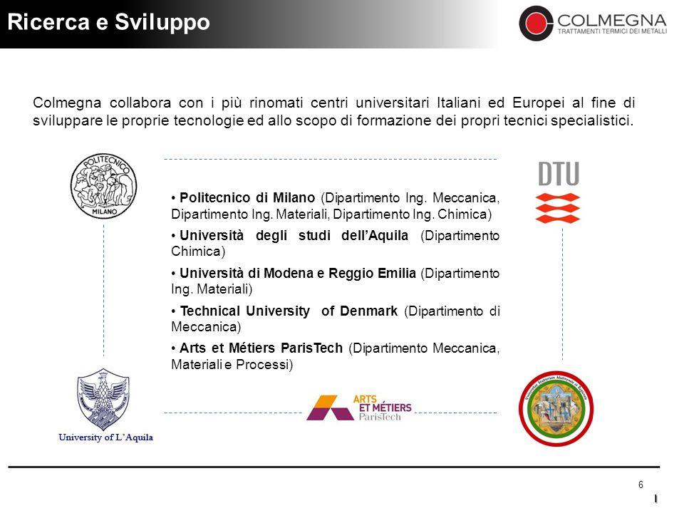 Colmegna – Piano di Rilancio Industriale e Finanziario Strictly Confidential 7 L' Organigramma CONSIGLIO DI AMMINISTRAZIONE D.