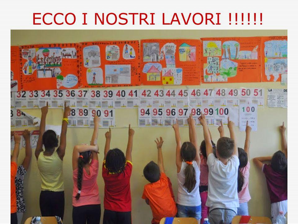 ECCO I NOSTRI LAVORI !!!!!!
