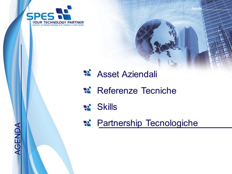 AGENDA Asset Aziendali Referenze Tecniche Skills Partnership Tecnologiche Agenda