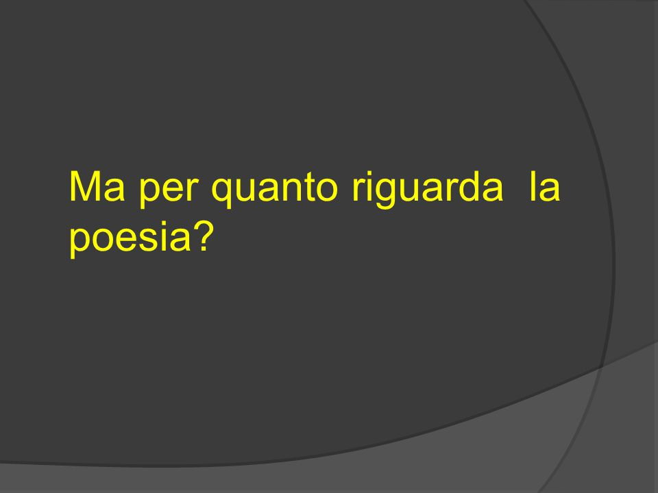 Il panorama della poesia italiana del Novecento è difficile da affrontare in modo sistematico, essendo composto di una miriade di autori complessi da catalogare e che sperimentano forme nuove, talvolta contraddittorie, spesso in evoluzione veloce e profonda.