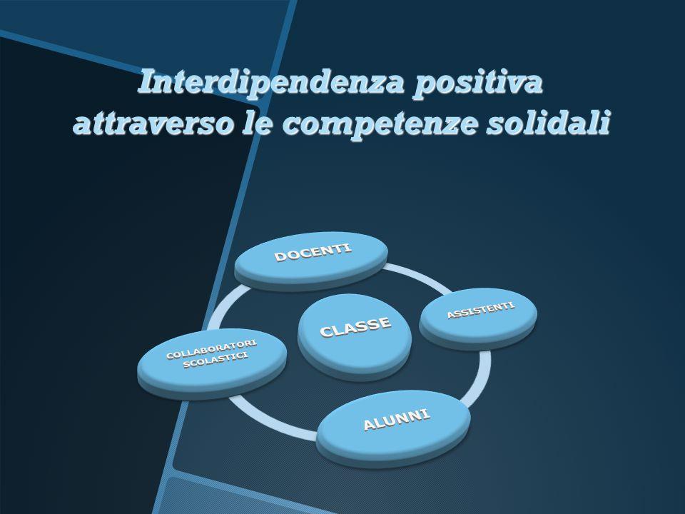 Interdipendenza positiva attraverso le competenze solidali