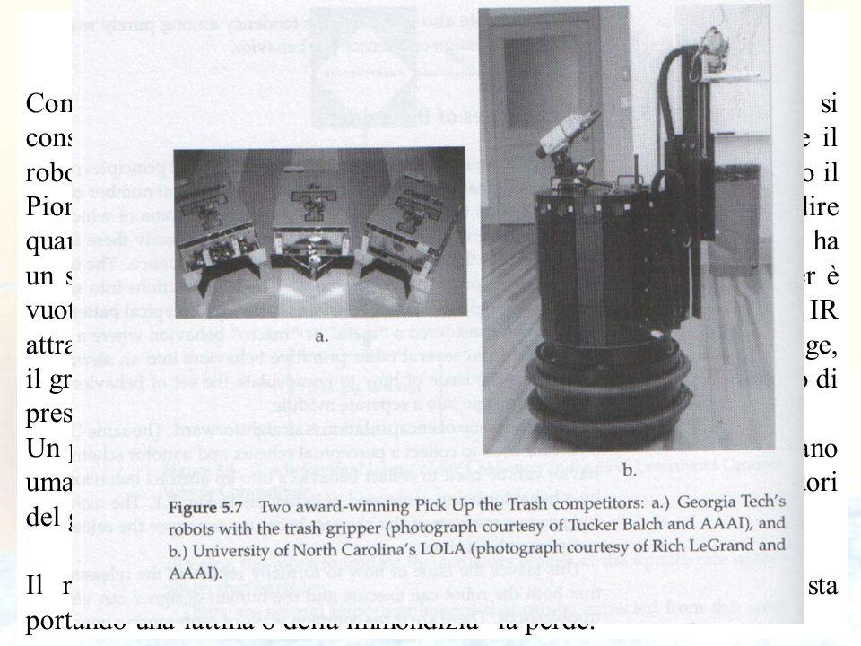 81 Un FSA per la raccolta dell'immondizia Come altro esempio di come costruire ed applicare un FSA, si consideri il task della raccolta dell'immondizi