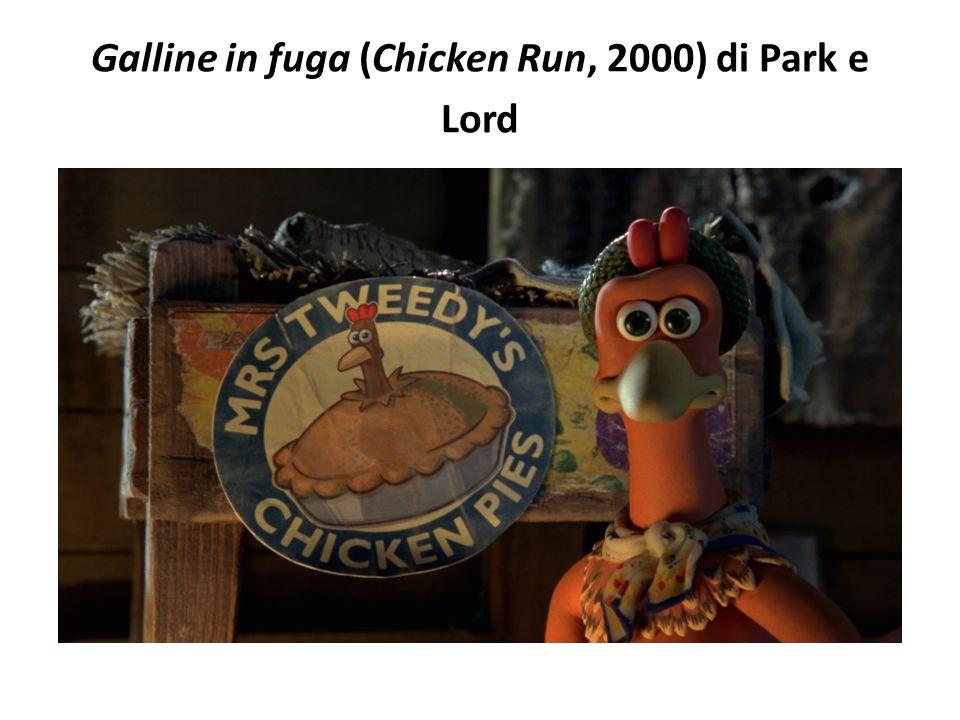 Galline in fuga (Chicken Run, 2000) di Park e Lord