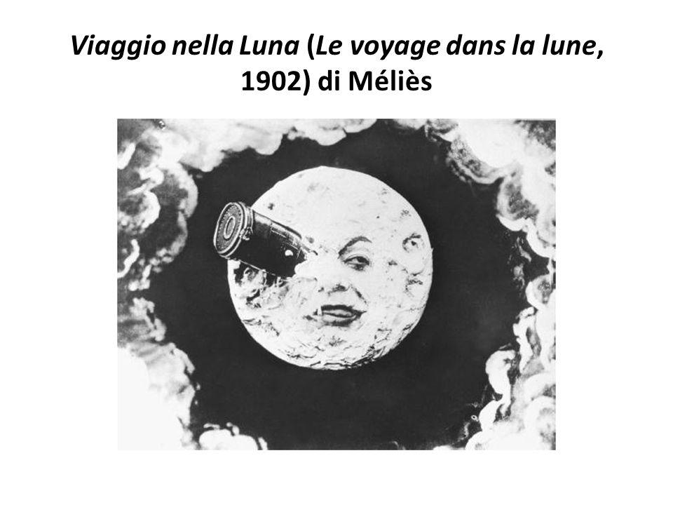Viaggio nella Luna (Le voyage dans la lune, 1902) di Méliès