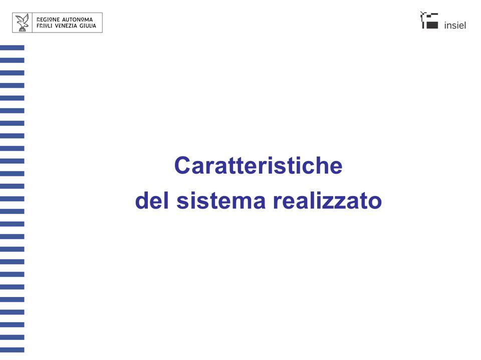 L'accesso al sistema Il servizio web è accessibile mediante browser standard (Internet Explorer v.5.5 o superiori) Indirizzo per collegarsi al sistema: – Intranet: http://servizistatistici/OsservatorioCommerciohttp://servizistatistici/ oppure http://192.168.26.12/OsservatorioCommerciohttp://192.168.26.12/ – Internet: http://servizistatistici.regione.fvg.it/OsservatorioCommercio http://servizistatistici.regione.fvg.it/