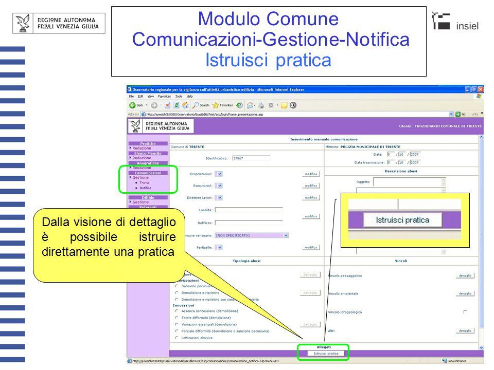 Modulo Comune Pratiche-Redazione-Nuova (1/2) Il sistema propone in automatico la data odierna e un identificativo successivo all'ultimo memorizzato, entrambi sono modificabili prima del salvataggio