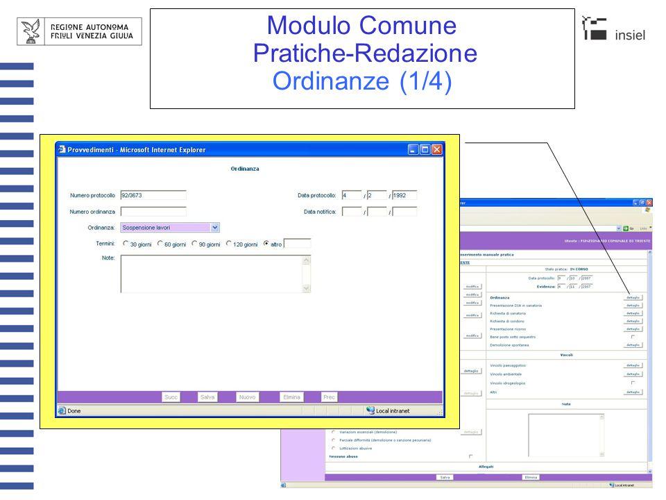 Modulo Comune Pratiche-Redazione Ordinanze (2/4)