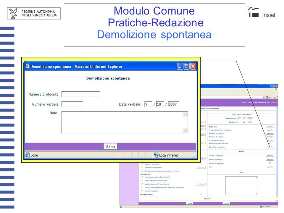 Modulo Comune Elenco mensile-Redazione-Nuovo Comunicazioni mensili ricevute.
