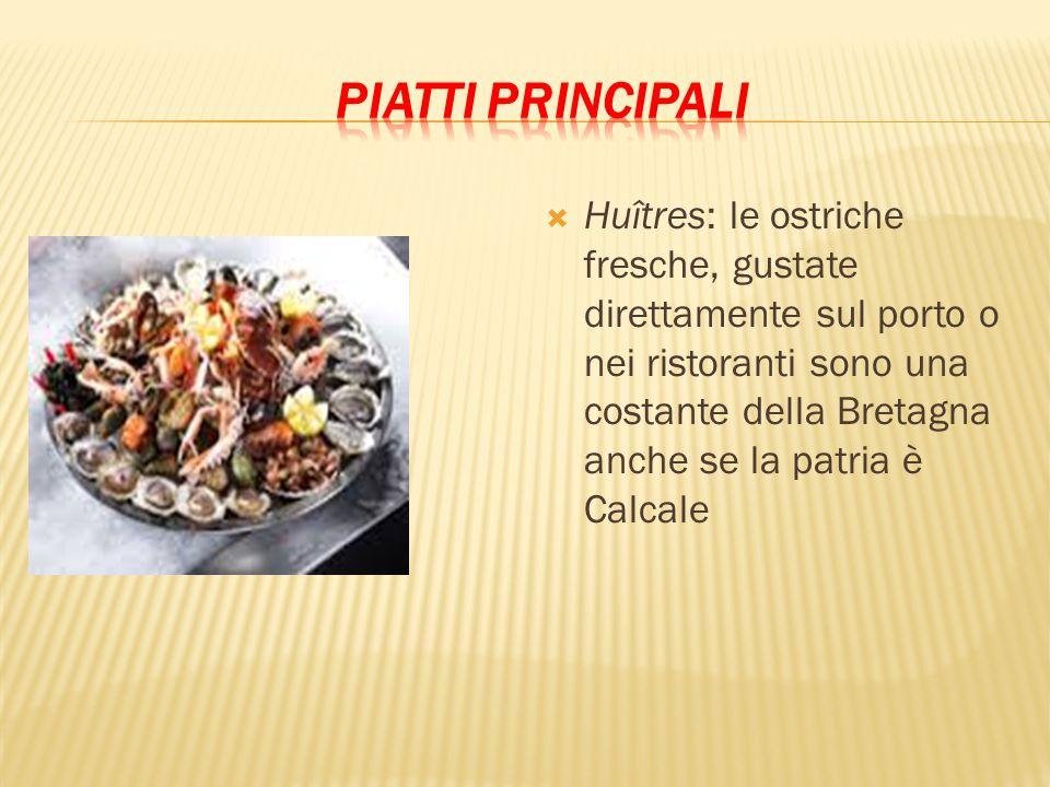 Huîtres: le ostriche fresche, gustate direttamente sul porto o nei ristoranti sono una costante della Bretagna anche se la patria è Calcale