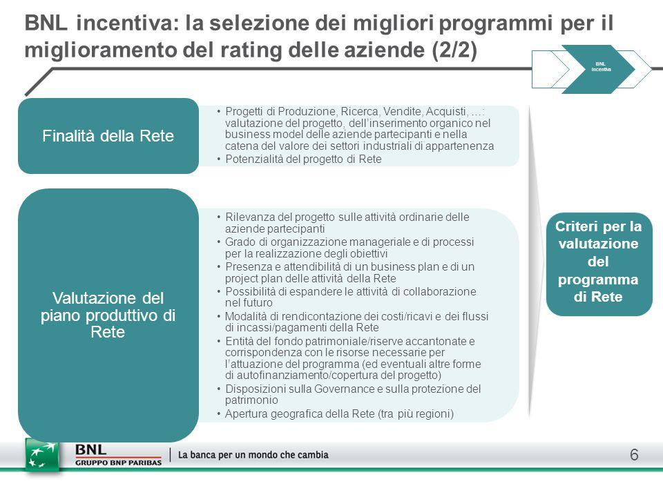 6 Progetti di Produzione, Ricerca, Vendite, Acquisti, …: valutazione del progetto, dell'inserimento organico nel business model delle aziende partecip