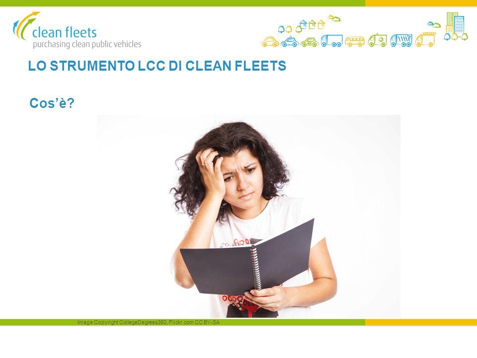 LO STRUMENTO LCC DI CLEAN FLEETS Cos'è Image Copyright CollegeDegrees360, Flickr.com CC BY-SA
