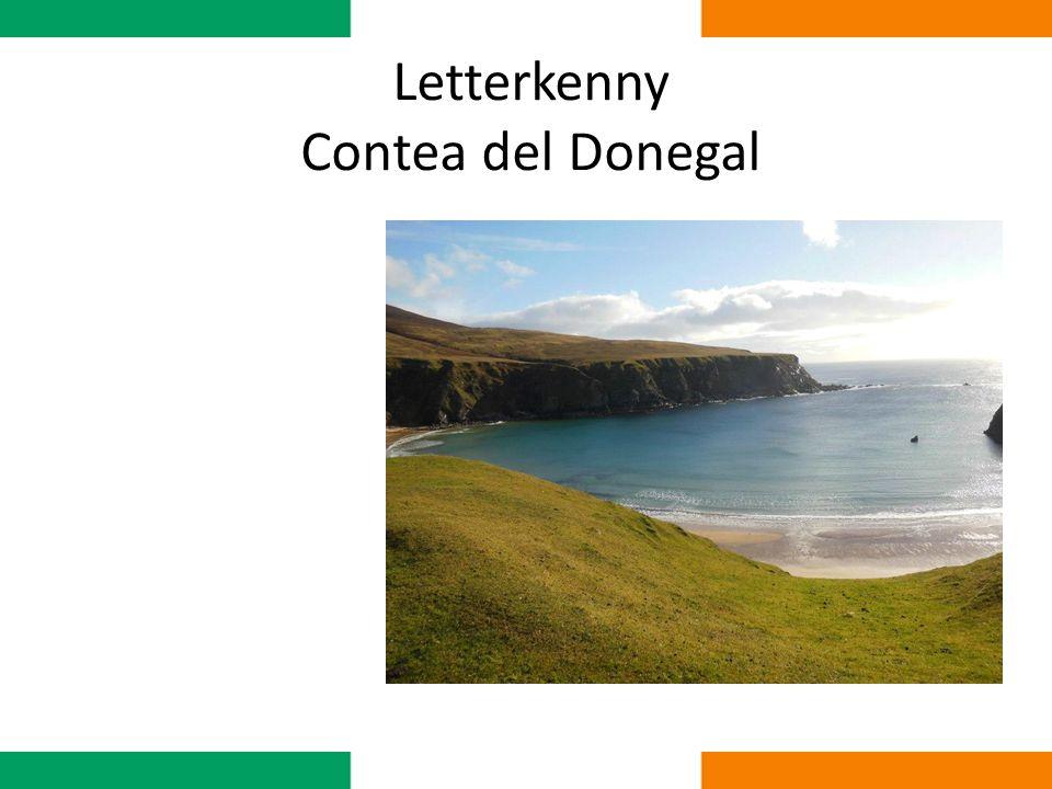 La città Letterkenny è la città più grande e popolata della Donegal, con circa 20.000 abitanti.