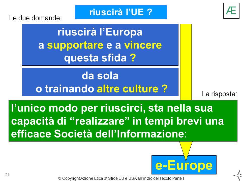 e-Europe riuscirà l'UE . 21 riuscirà l'Europa a supportare e a vincere questa sfida .
