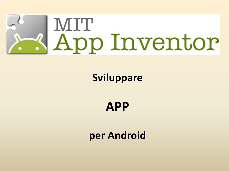 Acquisire il QR code tramite la App MIT App Inventor2