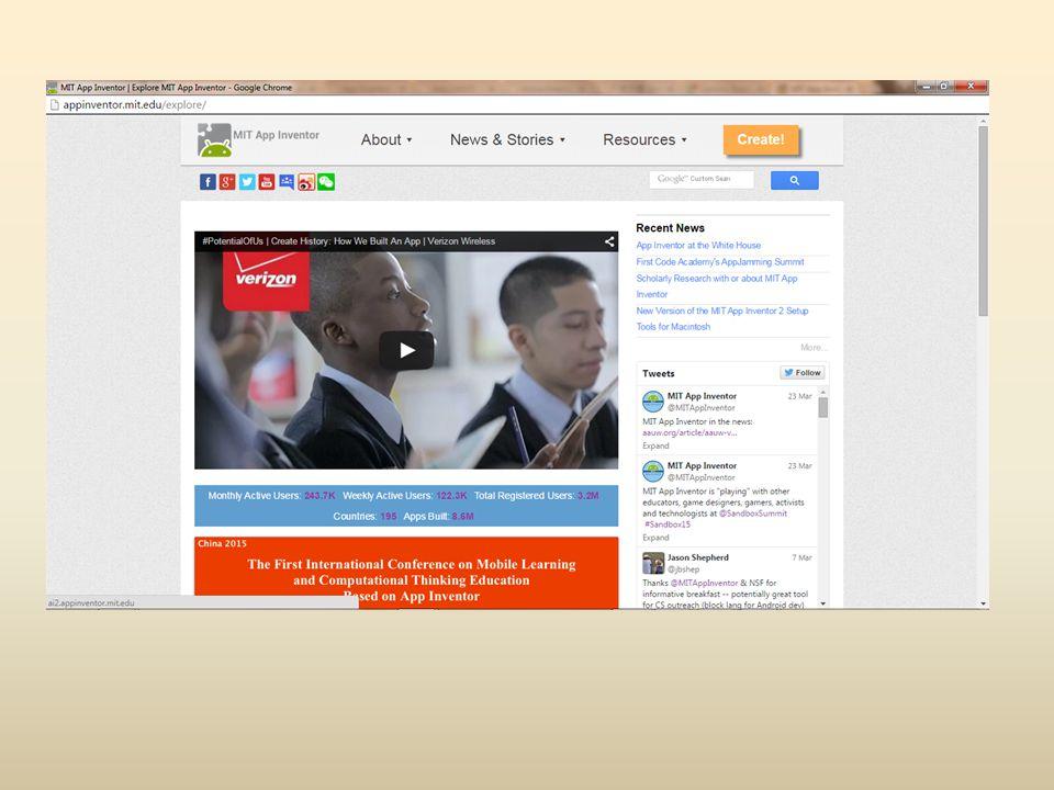 Media Components Questa famiglia di componenti consente di gestire gli elementi multimediali all interno della nostra applicazione creata con MIT App Inventor.
