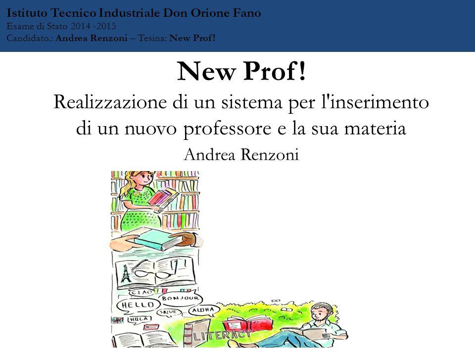 New Prof.