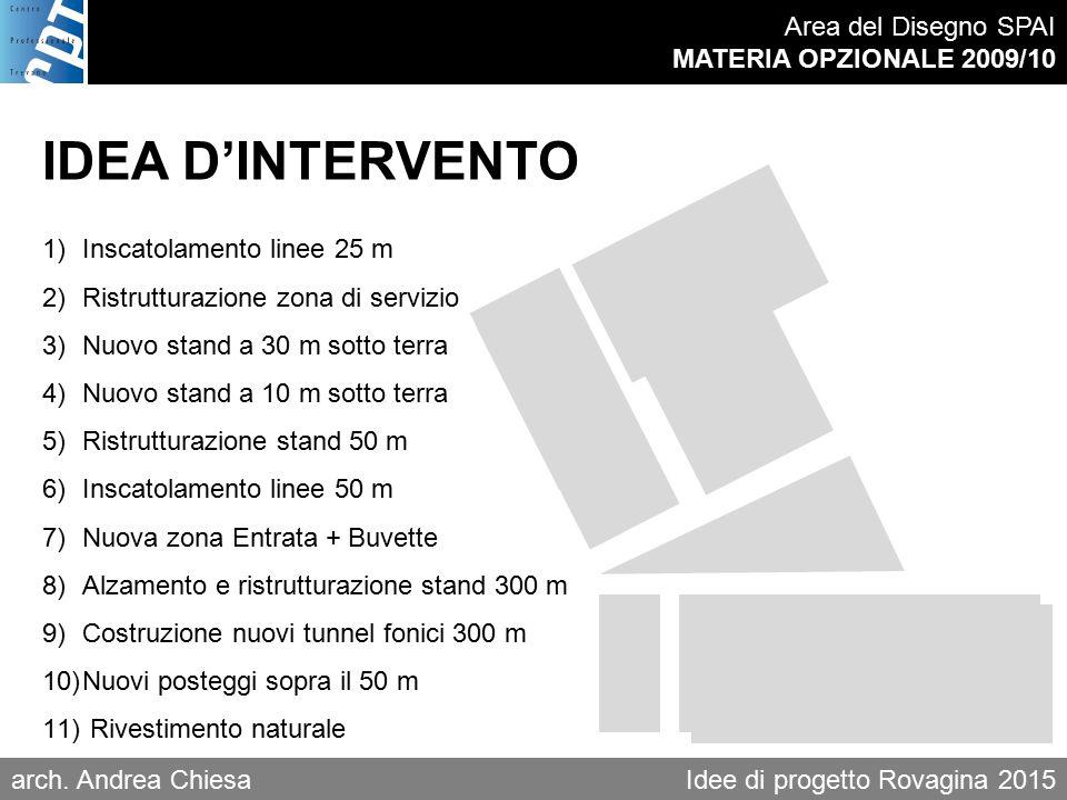 Area del Disegno SPAI MATERIA OPZIONALE 2009/10 arch.