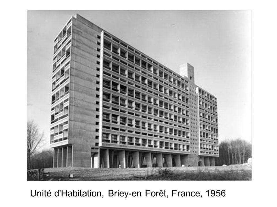 Unité d'Habitation, Briey-en Forêt, France, 1956