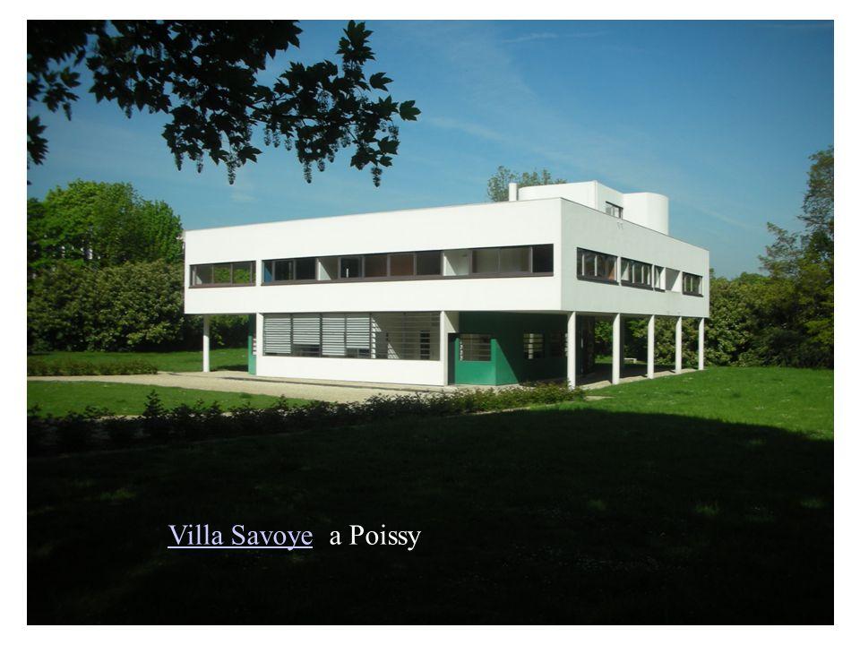 Villa SavoyeVilla Savoye a Poissy