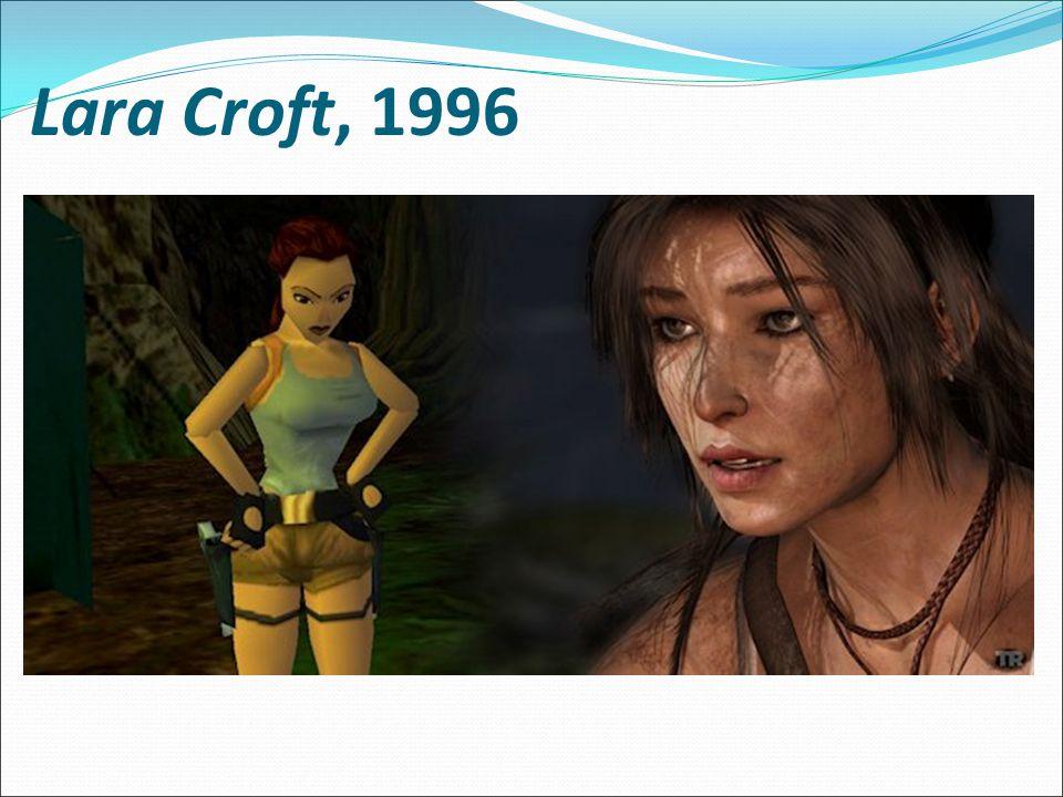 Lara Croft, 1996