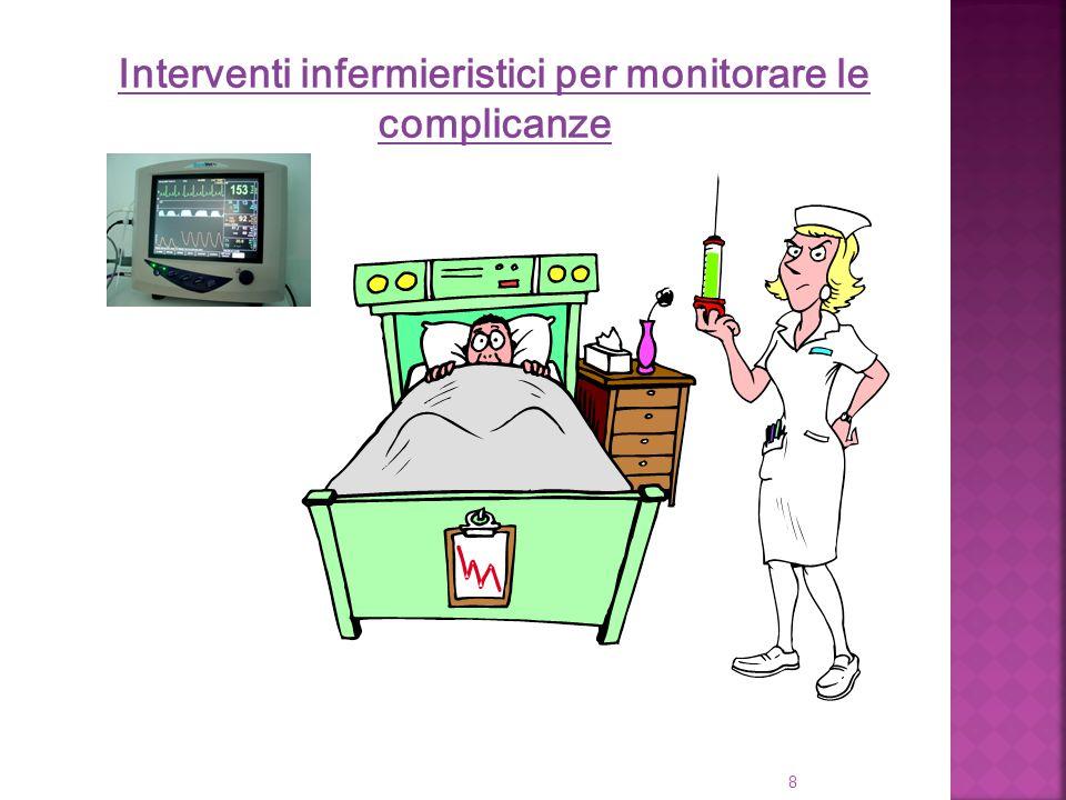 8 Interventi infermieristici per monitorare le complicanze