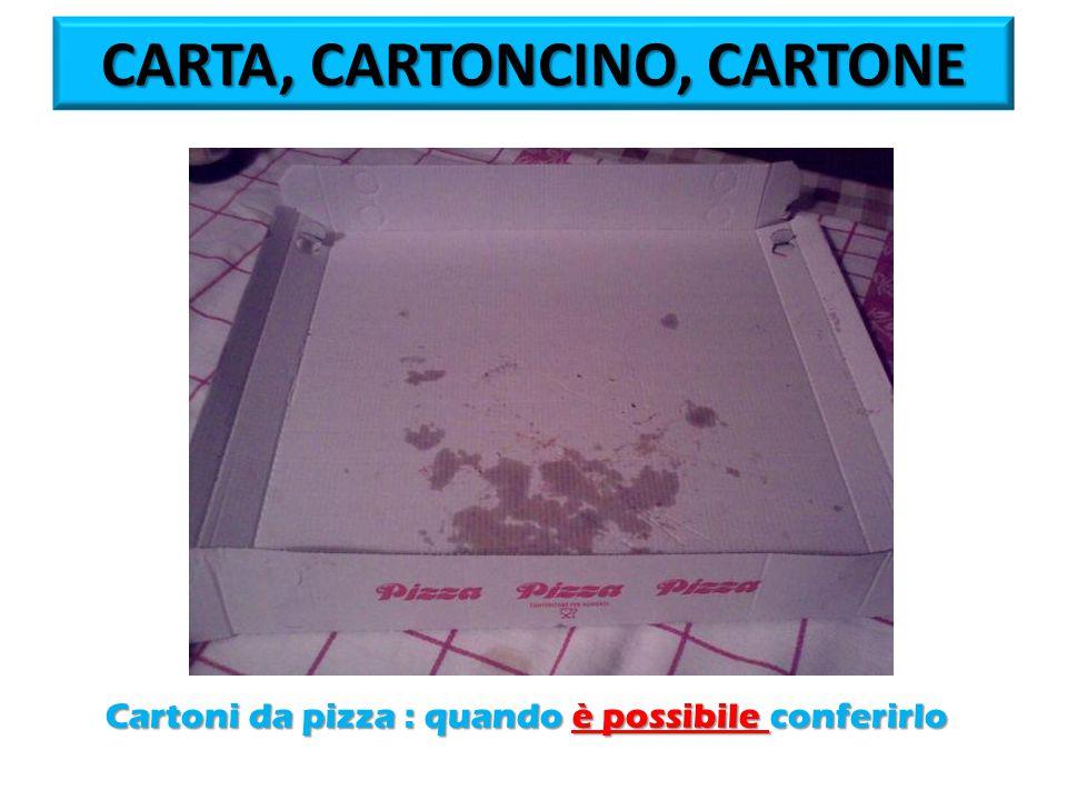 Cartoni da pizza : quando è possibile conferirlo