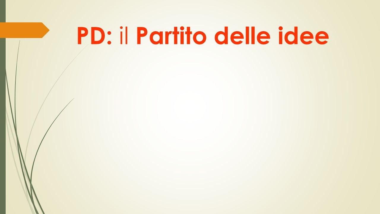 PD: il Partito delle idee