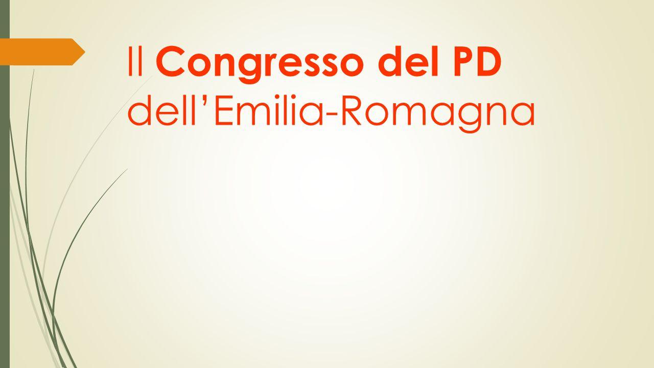 Il Congresso del PD dell'Emilia-Romagna