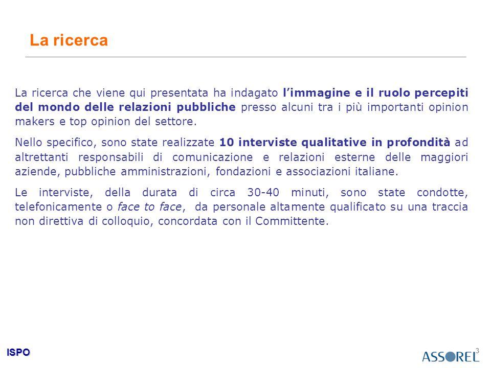 ISPO 4 Cap. 1 Le relazioni pubbliche oggi: identità e ruolo