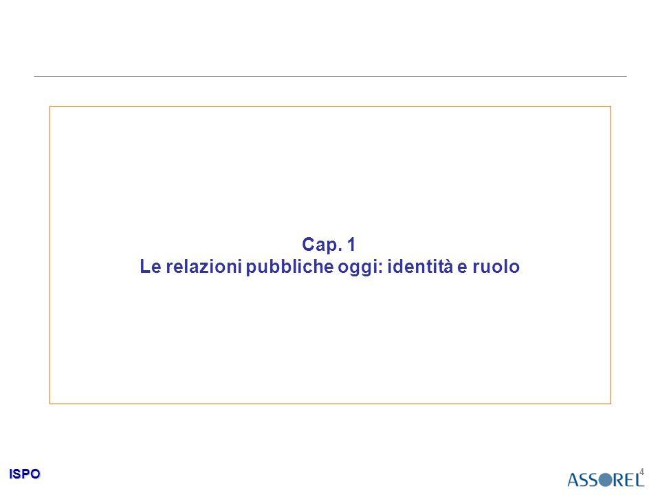 ISPO 5 I nessi associativi immediati: cosa sono le relazioni pubbliche.