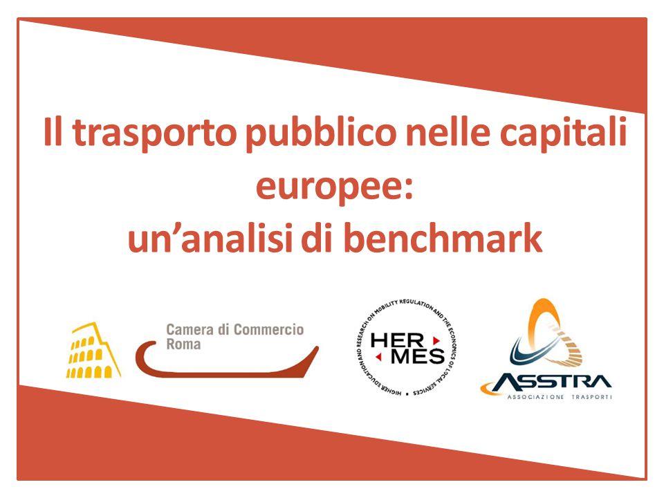 La ricerca nasce dalla collaborazione tra: HERMES, il centro di ricerca sull economia ed il diritto dei trasporti pubblici locali e dei servizi regolamentati; ASSTRA, Associazione Trasporti; Camera di Commercio di Roma, co-finanziatore dell'iniziativa.