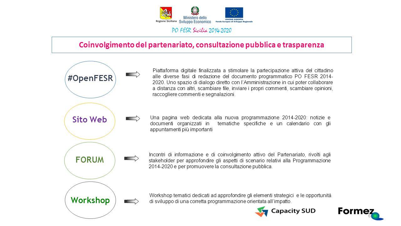 valorizzazione della conoscenza implicita attraverso: Stakeholder workshop di qualificati portatori di conoscenze: Una pagina web dedicata alla nuova