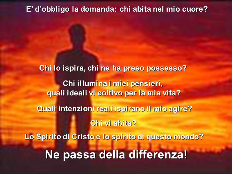 Il Battesimo dello Spirito, ci ricorda che niente possiamo fare da soli nella lotta contro il male, nella lotta contro il male, dobbiamo vivere di una