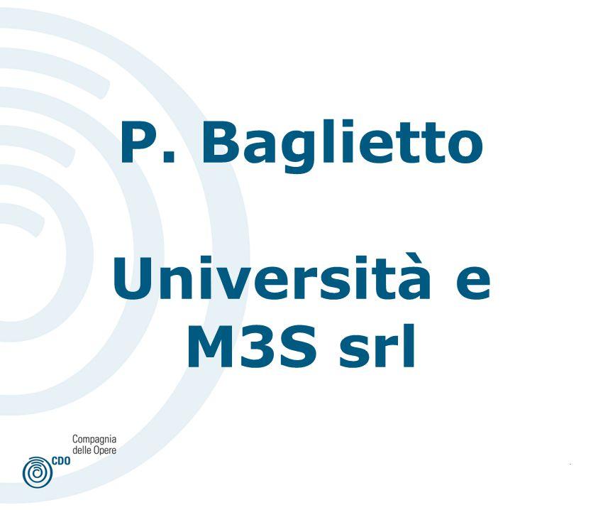 . P. Baglietto Università e M3S srl